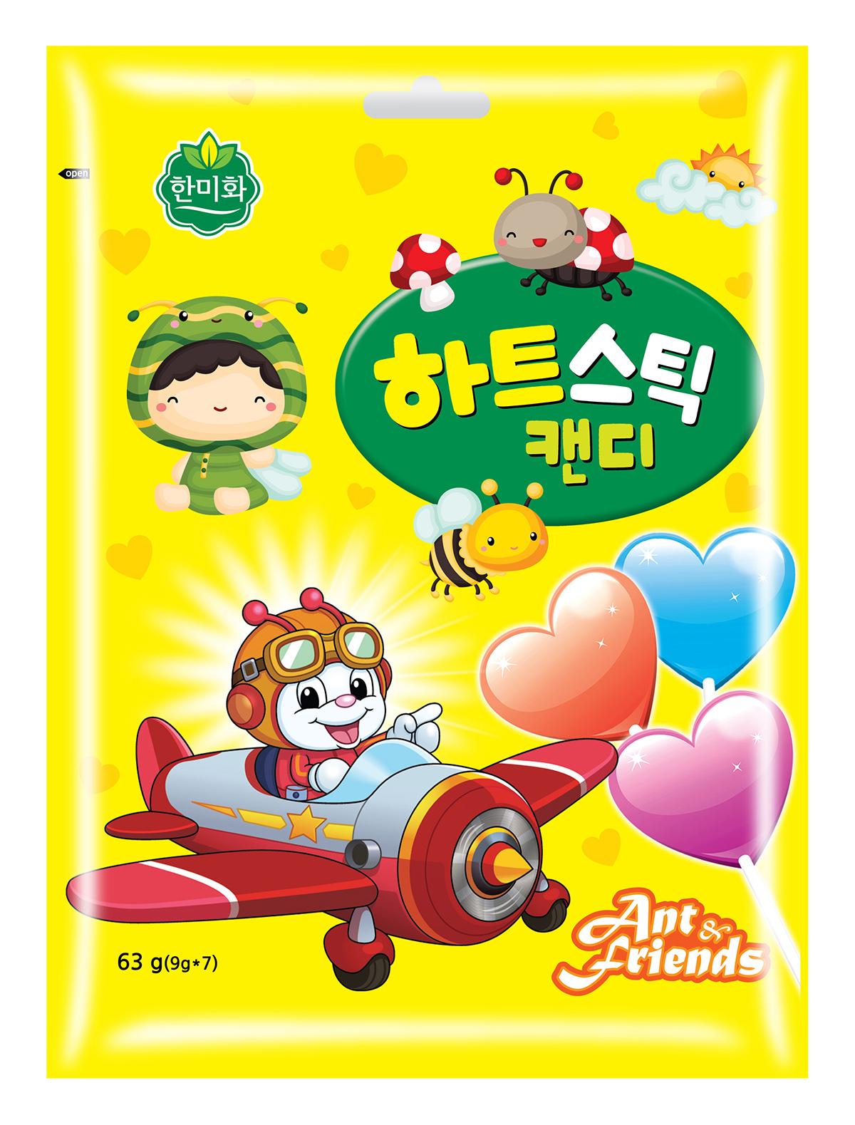 韩美禾棒棒糖系列