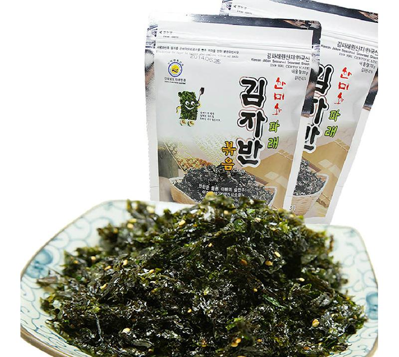 韩美禾炒海苔70g