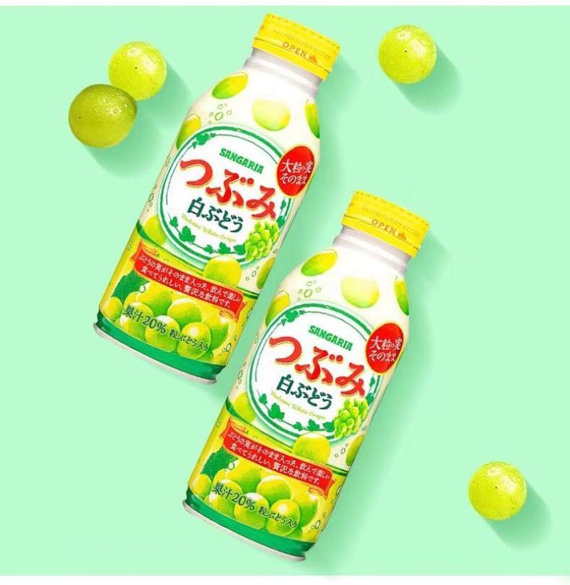 三佳利白葡萄果汁饮料380g