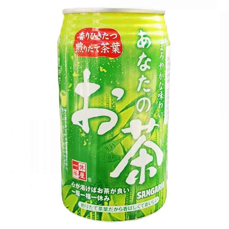 三佳利绿茶饮料340g