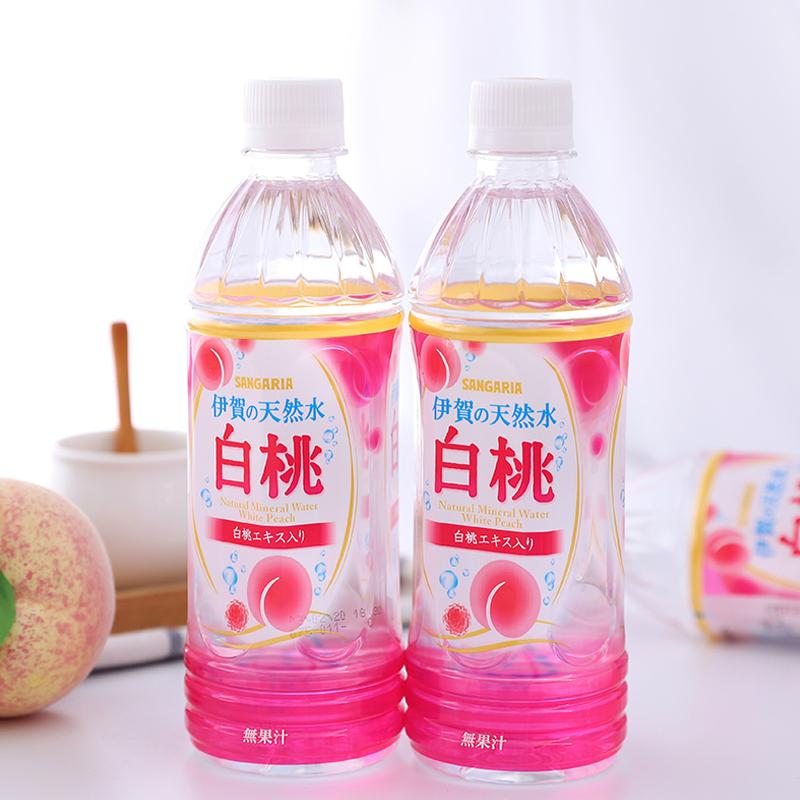 天然白桃水 500ml